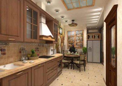 Перенос кухни в жилую комнату канализация